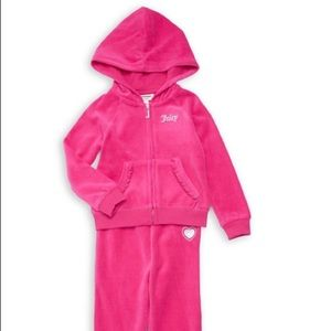 babygirl toddler Juicy  couture sweat suit.